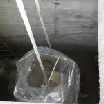 Stazione elettrica Latina - rimozione serbatoio idrico